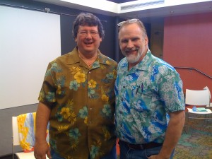 The laughter therapy and lomilomi workshop with Kahuna Jim