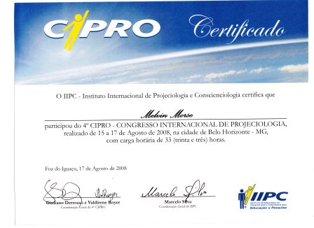 CIPRO Continuing Education Completion Certificate
