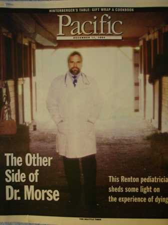 Melvin Morse MD Cover Pacific Magazine
